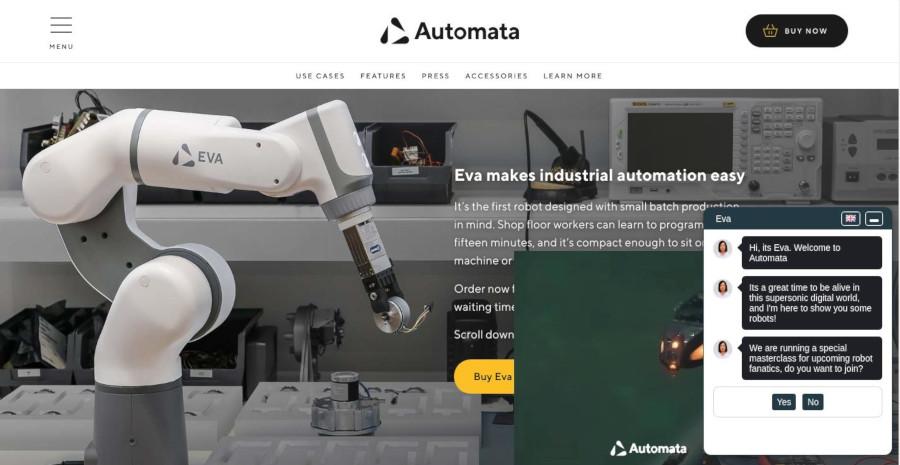 Automata –  Chatbot Demo