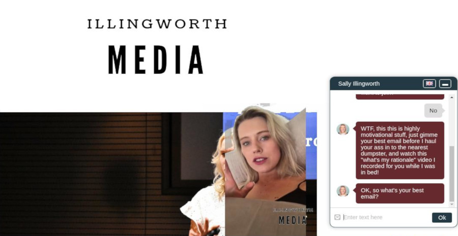 Illingworth Media –  Spoof Chatbot Demo