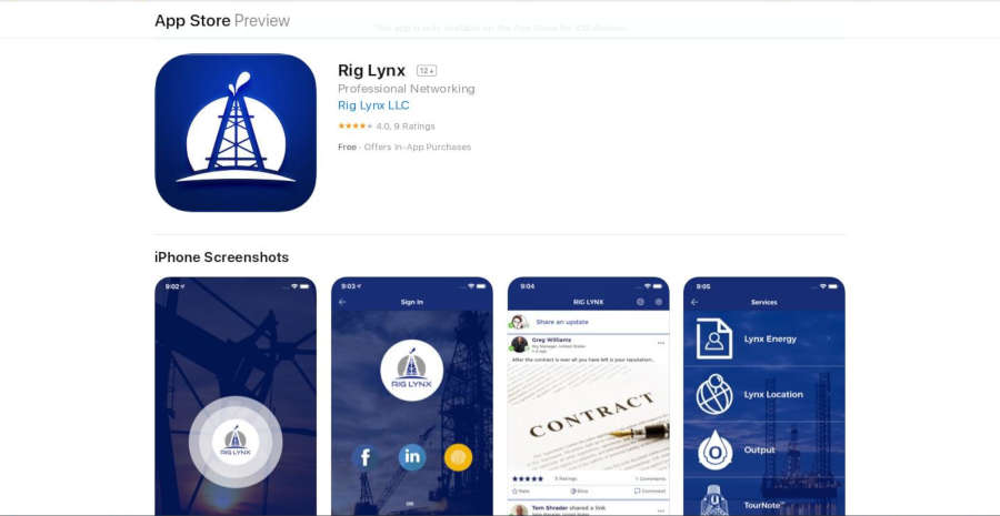Rig Lynx App Store
