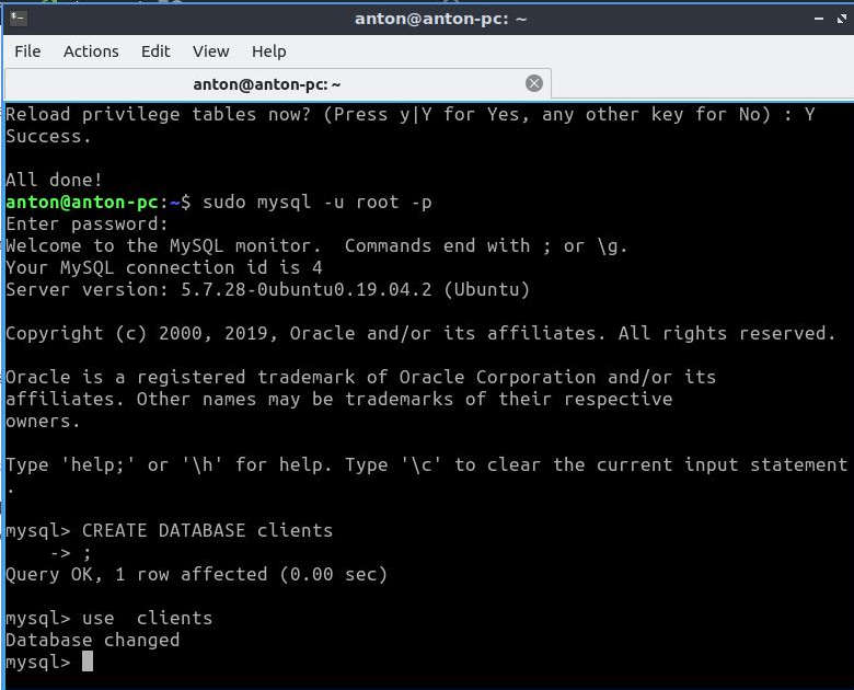 How To Install The MySQL Database Server, Xhostcom - Evolutionary Wordpress